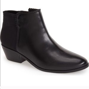Jack Rogers Shoes - Jack Rogers Black Leather Bailee booties 8.5